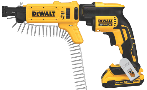 Collated DeWalt Tool
